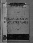 elisa lynch de quatrefages