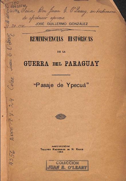 reminiscencias históricas de la guerra del paraguay