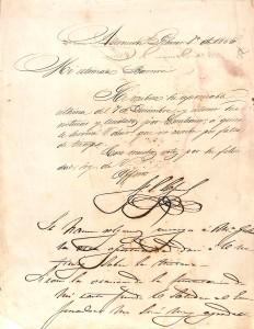 Carta de Lopez a Bareiro_Febrero 1865