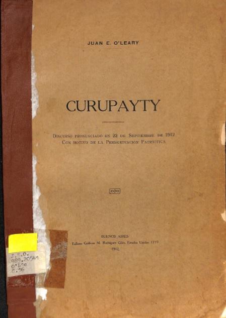 Curupayty 1912