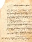Carta de Francisco Sánchez a Cándido Bareiro, Septiembre 1867 imagen