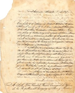 Firma Francisco Sanchez Setiembre 5-1867