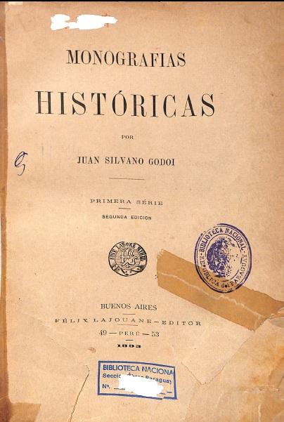 Monografia Historica J Silvano G. 1839