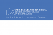El 1er. Encuentro Nacional de Bibliotecas Públicas y Bibliotecarios inicia mañana miércoles 03 de Abril imagen