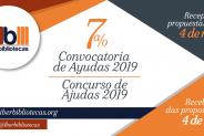Convocatorias de Ayudas 2019 – IBERBIBLIOTECAS imagen